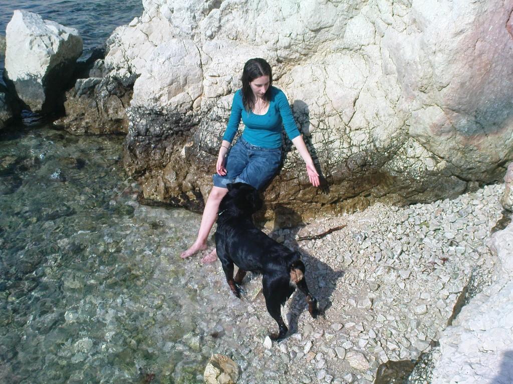 10 - My adoptive mom, Valérie